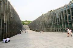 Πανεπιστήμιο της γυναίκας Ewha στη Σεούλ, Νότια Κορέα Στοκ Φωτογραφία