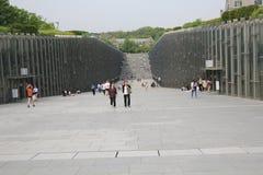 Πανεπιστήμιο της γυναίκας Ewha στη Σεούλ, Νότια Κορέα Στοκ φωτογραφίες με δικαίωμα ελεύθερης χρήσης