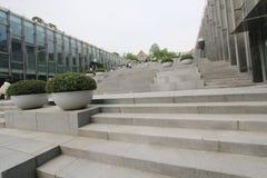 Πανεπιστήμιο της γυναίκας Ewha στη Σεούλ, Νότια Κορέα Στοκ εικόνες με δικαίωμα ελεύθερης χρήσης