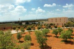 Πανεπιστήμιο της Ιορδανίας της επιστήμης και της τεχνολογίας στοκ φωτογραφία με δικαίωμα ελεύθερης χρήσης