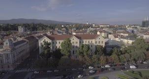 Πανεπιστήμιο της κεραίας του Ζάγκρεμπ απόθεμα βίντεο