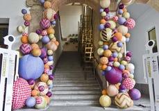 Πανεπιστήμιο της κύριας σκάλας του Μιλάνου Στοκ εικόνες με δικαίωμα ελεύθερης χρήσης