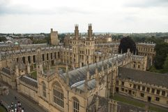 πανεπιστήμιο της Οξφόρδης UK Στοκ Φωτογραφία