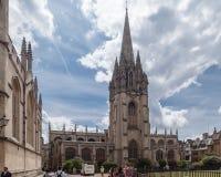 Πανεπιστήμιο της Οξφόρδης Αγγλία εκκλησιών Χριστού Στοκ εικόνες με δικαίωμα ελεύθερης χρήσης