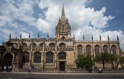 Πανεπιστήμιο της Οξφόρδης Αγγλία εκκλησιών Χριστού Στοκ Φωτογραφία