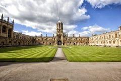 Πανεπιστήμιο της Οξφόρδης Στοκ Εικόνες