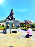 Πανεπιστήμιο της Mae Fah Luang, Ταϊλάνδη Στοκ φωτογραφίες με δικαίωμα ελεύθερης χρήσης