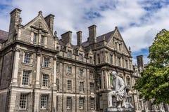 Πανεπιστήμιο του Δουβλίνου, Ιρλανδία Στοκ Φωτογραφία
