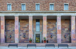 πανεπιστήμιο του Κολοράντο λίθων Στοκ φωτογραφία με δικαίωμα ελεύθερης χρήσης