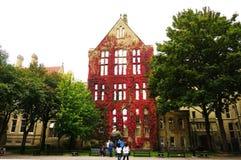 Πανεπιστήμιο του Μάντσεστερ Στοκ Φωτογραφία