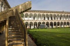 Πανεπιστήμιο του προαυλίου του Μιλάνου Στοκ Εικόνες