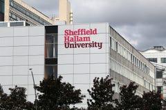 Πανεπιστήμιο του Σέφιλντ Hallam στοκ εικόνες