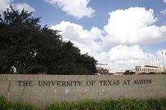Πανεπιστήμιο του Τέξας στο Ώστιν Στοκ Φωτογραφίες