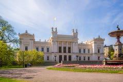Πανεπιστήμιο του Lund στην άνοιξη Στοκ φωτογραφία με δικαίωμα ελεύθερης χρήσης