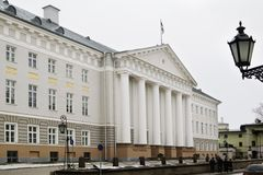 πανεπιστήμιο Στοκ Φωτογραφία