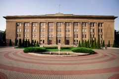 Πανεπιστήμιο Daugavpils της Λετονίας στοκ φωτογραφίες