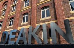 Πανεπιστήμιο Deakin σε Geelong Στοκ Φωτογραφίες