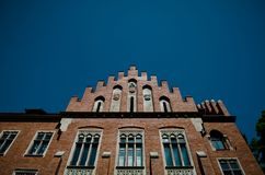 Πανεπιστήμιο Jagiellonian στην Κρακοβία, Πολωνία Στοκ Φωτογραφίες