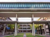 Πανεπιστήμιο Mahidol, πανεπιστημιούπολη Salaya, περιβάλλον Στοκ Φωτογραφίες