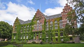 Πανεπιστημιακή βιβλιοθήκη του Lund απόθεμα βίντεο
