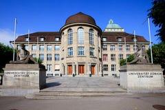 πανεπιστημιακή Ζυρίχη Στοκ εικόνα με δικαίωμα ελεύθερης χρήσης