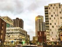 Πανεπιστημιακή περιοχή Malmö Στοκ φωτογραφία με δικαίωμα ελεύθερης χρήσης