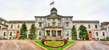 Πανεπιστημιακή σχολή McGill των τεχνών στο Μόντρεαλ, Καναδάς στοκ εικόνα με δικαίωμα ελεύθερης χρήσης