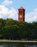Πανεπιστημιακός αναμνηστικός πύργος παρεκκλησιών Hampton Στοκ Εικόνες