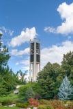 Πανεπιστημιακός εκατονταετής πύργος κωδωνοστοιχιών του Brigham Young Στοκ Εικόνα