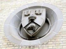 Πανεπιστημιακό έμβλημα 2016 κεντρικού κτιρίου του Τορόντου Στοκ φωτογραφίες με δικαίωμα ελεύθερης χρήσης