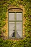 Πανεπιστημιακό μικρό παράθυρο του Castle Alnarp Στοκ Φωτογραφίες
