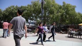 Πανεπιστημιούπολη Καλιφόρνια Googleplex απόθεμα βίντεο