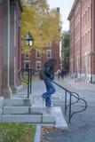 Πανεπιστημιούπολη Πανεπιστημίου του Χάρβαρντ Στοκ φωτογραφίες με δικαίωμα ελεύθερης χρήσης