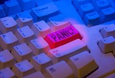 πανικός κουμπιών Στοκ Εικόνες