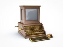 Πανκ εκλεκτής ποιότητας υπολογιστής ατμού Στοκ Εικόνα