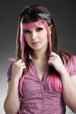 Πανκ κορίτσι Στοκ φωτογραφίες με δικαίωμα ελεύθερης χρήσης