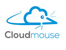 Πανκ λογότυπο σύννεφων (σημάδι, απεικόνιση, εικονίδιο) Στοκ Φωτογραφίες