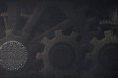 Πανκ υπόβαθρο ατμού Στοκ φωτογραφία με δικαίωμα ελεύθερης χρήσης