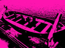 Πανκ φορτίο ship& x27 σωσίβιες λέμβοι του s Στοκ εικόνα με δικαίωμα ελεύθερης χρήσης