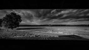 Πανοραμική άποψη από μια καμπίνα παρατήρησης Στοκ Φωτογραφίες