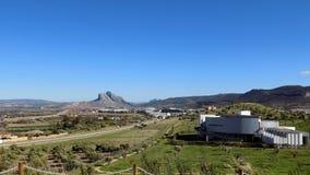 Πανοραμική άποψη από Antequera - την Μάλαγα-Ανδαλουσία Ισπανία Στοκ Φωτογραφία