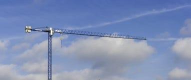 Πανοραμική άποψη ενός γερανού στοκ εικόνες