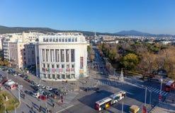 Πανοραμική άποψη Θεσσαλονίκης, Ελλάδα στοκ εικόνες