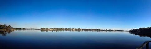 Πανοραμική άποψη ποταμών Στοκ Εικόνα