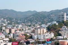 Πανοραμική άποψη πόλεων Acapulco στοκ φωτογραφία με δικαίωμα ελεύθερης χρήσης