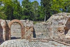 Πανοραμική άποψη στα αρχαία θερμικά λουτρά Diocletianopolis, πόλη Hisarya, Βουλγαρία Στοκ Εικόνες
