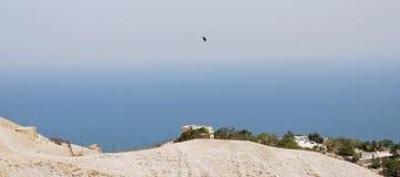 Πανοραμική άποψη στη νεκρή θάλασσα Στοκ φωτογραφία με δικαίωμα ελεύθερης χρήσης