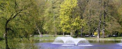 Πανοραμική άποψη σχετικά με το πάρκο Στοκ Εικόνα