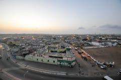 Πανοραμική άποψη της Άκρα, Γκάνα στοκ φωτογραφίες