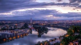 Πανοραμική άποψη της Βασιλείας, Ελβετία Στοκ φωτογραφία με δικαίωμα ελεύθερης χρήσης